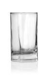 Glass from under vodka Royalty Free Stock Photography