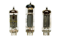 Glass vacuum tubes Stock Photos