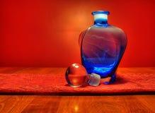 Glass vase Stock Photography