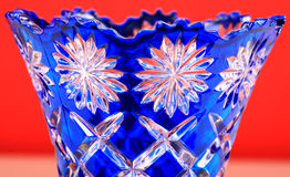 Glass vase design Royalty Free Stock Image