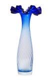 Glass vase isolated Royalty Free Stock Image