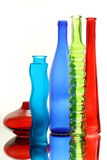 Glass vases Stock Image