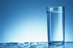 glass vatten Arkivfoton