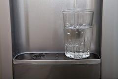 glass vatten Royaltyfri Bild