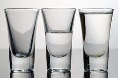 glass vatten Royaltyfri Fotografi