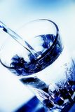 glass vatten Arkivbild