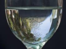 1 glass vatten Arkivbild