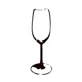A glass (vector). Drawing a glass (cmyk to rgb Royalty Free Stock Images
