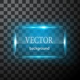 Glass vektorknappnivå Lätt redigerbar bakgrund Fotografering för Bildbyråer