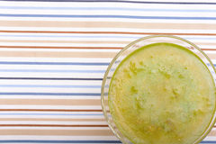 Glass of very cold drink Royalty Free Stock Images