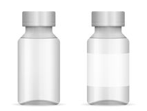 Glass vial Stock Images
