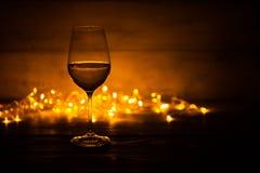 glass vit wine fotografering för bildbyråer