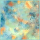 Glass vitrage mosaic kaleidoscopic pattern background soft color Stock Image