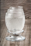 A glass of vodka Stock Image