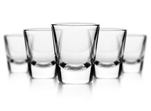 Glass of vodka Royalty Free Stock Photography