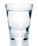 Glass with vodka Stock Photo