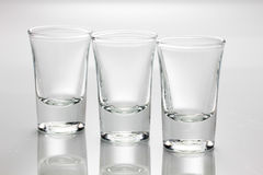 Glass of vodka Stock Photos