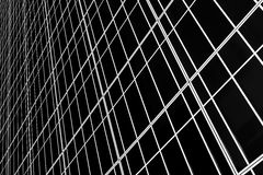 Glass wall. Of an office building in perspective Stock Image