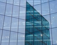 Glass wall Stock Images