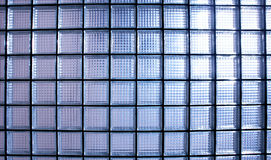 Glass wall. Geometric texture detail Royalty Free Stock Images