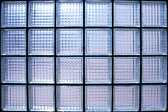Glass wall. Geometric texture detail Royalty Free Stock Photos