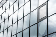 Glass wall Stock Photography