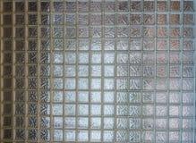 Glass wall. Bock grid white Stock Photo