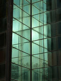 Glass wall building. Mesh pattern Royalty Free Stock Images
