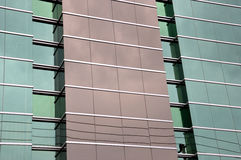 Glass wall on the building Royalty Free Stock Photography