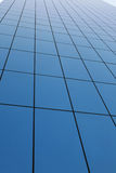 Glass wall of business center Royalty Free Stock Photo