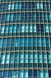 Glass wall of high-rise building Royalty Free Stock Photo