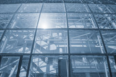 Glass wall of the modern building. Stock Photography