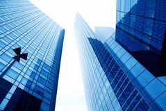 Free Glass Wall Of An Office Building Royalty Free Stock Image - 13155366