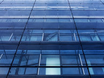 Glass wall of office building Stock Photo