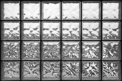 Glass wall in the office building Royalty Free Stock Photos