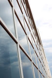 Glass wall of an office building Royalty Free Stock Photos