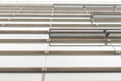 Glass wall of office building Stock Image