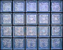 Glass wall pattern Royalty Free Stock Photography