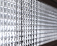 Glass wall pattern perspective Royalty Free Stock Image