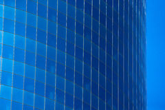 Glass wall of a skyscraper Royalty Free Stock Photos