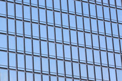 Glass wall of a skyscraper. Glass wall of a skyscraper for design business background in your work Stock Photo
