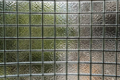 Glass wall. Using in interior design Stock Images