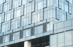 Glass Walls of Modern Hotel Architecture Stock Photo