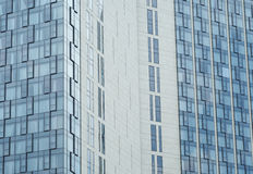 Glass Walls of Modern Hotel Architecture Stock Photos