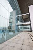 Glass walls office Royalty Free Stock Photos