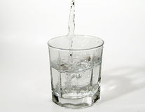 Glass of Water. Photo of a Glass of Water stock photography