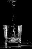 Glass and water Stock Photography