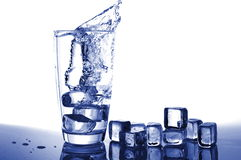 Glass water Royalty Free Stock Images