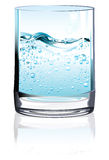 Glass of water. Stock Photos
