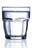 Glass of water Royalty Free Stock Images